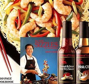 Chef David Tsang Cook Book - All That Sizzles