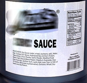 Restaurant size private label Pan Asian sauce image