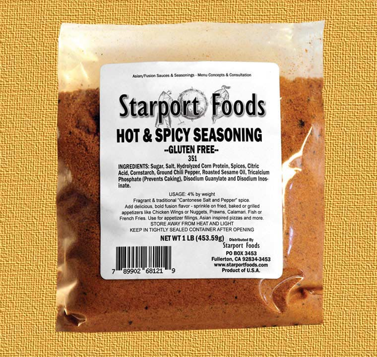Chinese 5 spice Hot and Spicy Seasoning gluten free image