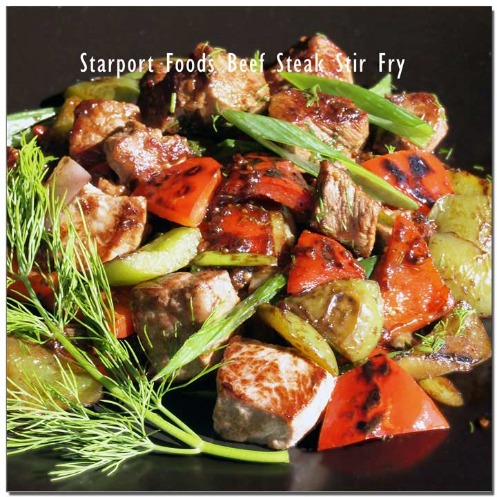 Beef Steak Stir Fry with Szechuan Sauce RecipeImage