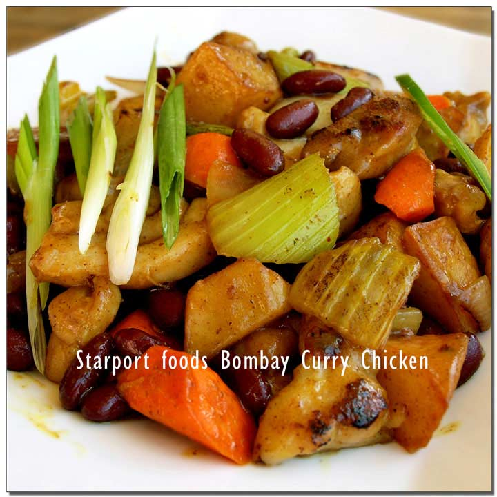 Bombay Curry Chicken Gluten Free Recipe image