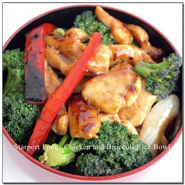 Chicken and Broccoli Rice Bowl Image