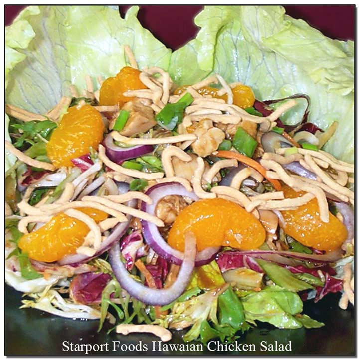Hawaiian Chickrn Salad Recipe Image