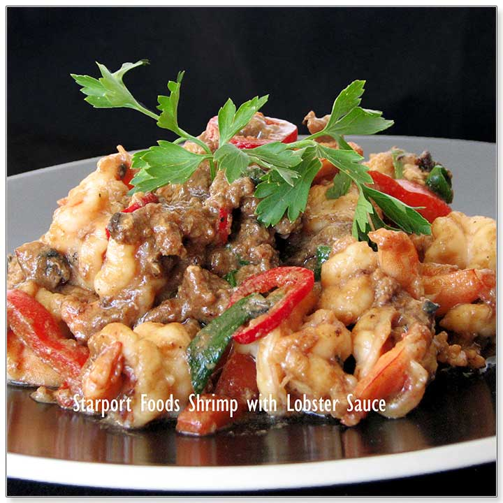 Shrimp in Classic Lobster Style Black Bean Sauce Recipe