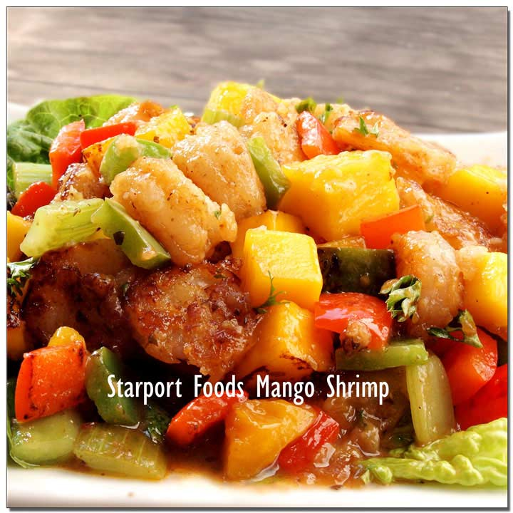 Mango Creole Shrimp Recipe Image