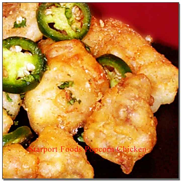 Mongolian Hot and Spicy Popcorn chicken Image
